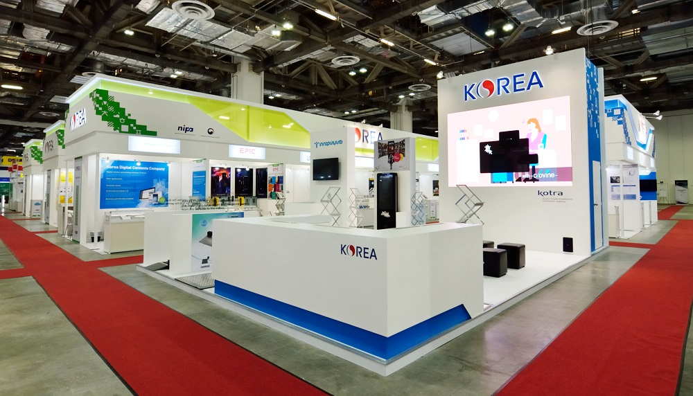 Korea Pavilion @ CommunicAsia 2018